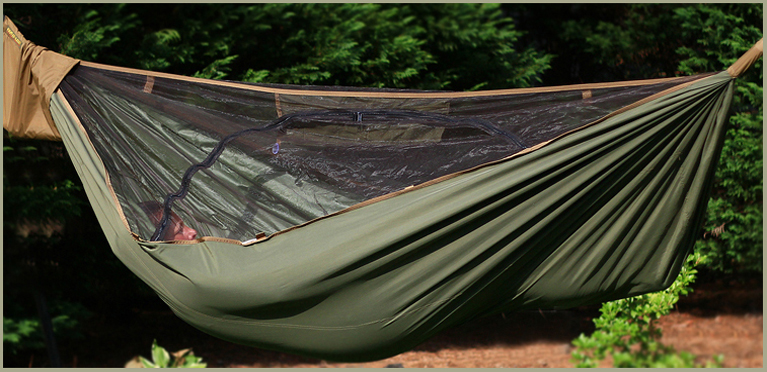 HAMMOCKS DESIGNED FOR COLD WEATHER CAMPING!